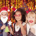 Christmas party photobooth kids