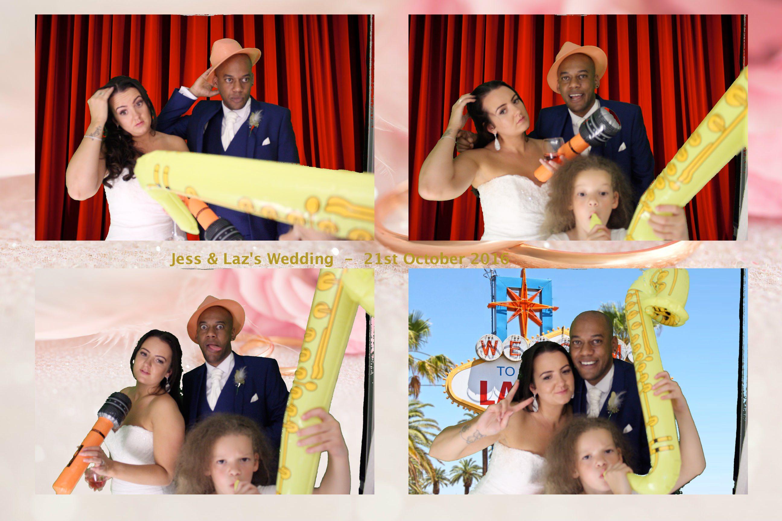 Jess & Laz's Wedding